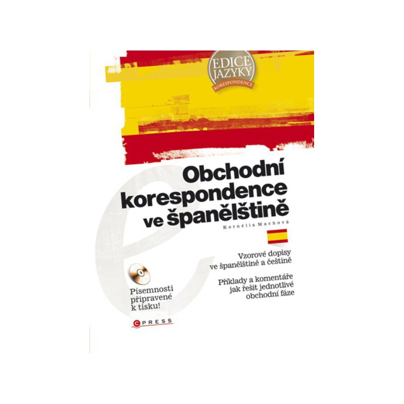 Obchodní korespondence ve španělštině + CD-ROM